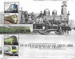 Belg. 2017 - COB N° 4717 à 4721 ** - La Beauté Du Train - Neufs
