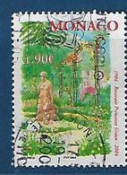 """Monaco YT 2428 """" Roseraie Princesse Grace """" 2004 Oblitéré - Monaco"""