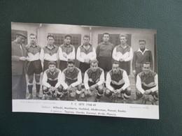 EQUIPE DE FOOT 34 FC SETE  1948-49 - Football