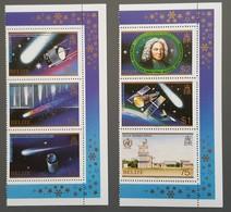 Belize - YT N°782 à 787 - Passage De La Comète De Halley / Espace - 1986 - Neufs - Belize (1973-...)