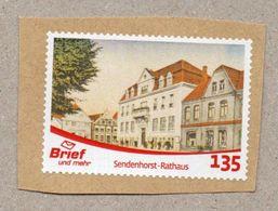 Privatpost - Brief Und Mehr - Gest. - Sendenhorst Rathaus - [7] République Fédérale