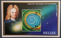 Belize - YT BF N°68 - Passage De La Comète De Halley / Espace - 1986 - Neuf - Belize (1973-...)