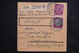 ALLEMAGNE - Bulletin De Colis Postal De Falkenberg Pour Drachenbronn En 1942 - L 22919 - Allemagne