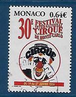 """Monaco YT 2522 """" Festival Du Cirque """" 2005 Oblitéré - Monaco"""