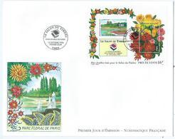 Enveloppe 1er Jour France FDC Le Salon Du Timbre 1994 - FDC