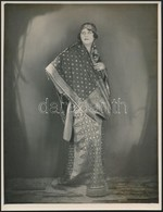 Cca 1930 H. H. The Dayang Muda Of Sarawak Gladys Milton Palmer Brooke (1884-1952), Fotó, Paris, Studio Georges Marant, A - Other Collections