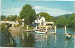 W1102 Maidenhead - The Thames At Boulter's Lock - Barche Boats Bateaux / Viaggiata 1971 - Altri