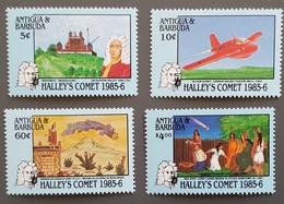 Antigua - YT N°901 à 904 - Passage De La Comète De Halley / Espace - 1986 - Neufs - Antigua And Barbuda (1981-...)
