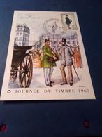 CARTE Journee Du Timbre1967 Brive La Gaillkarde - 1960-1969