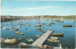 W1103 Malta - The Fishing Hamlet Of Marsaxlokk - Barche Boats Bateaux / Non Viaggiata - Malta
