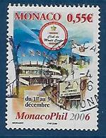"""Monaco YT 2521 """" Philatélie """" 2005 Oblitéré - Monaco"""