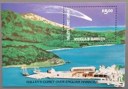 Antigua - YT BF N°107 - Passage De La Comète De Halley / Espace - 1986 - Neuf - Antigua And Barbuda (1981-...)