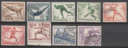 Deutsches Reich    .      609/616       .       O        .      Gebraucht - Deutschland