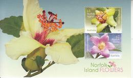 2017 Norfolk Island Flowers Orchids Fleurs  Souvenir Sheet MNH @ 90% Face Value - Norfolk Island