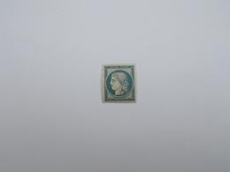 FAUX TIMBRE NEUF NON EMIS 20 C BLEU SUR JAUNATRE - 1849-1850 Ceres