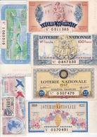 TRES JOLI LOT DE 57  BILLETS DE LOTERIE  / A VOIR - Billets De Loterie