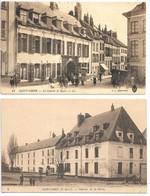 2 Cpa...Saint-Omer...(P.-de-C.)...caserne Du Rueil..animée...caserne De La Barre... - Saint Omer