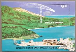Antigua - YT BF N°116 - Passage De La Comète De Halley / Espace - 1986 - Neuf - Antigua And Barbuda (1981-...)