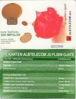 TARJETA TELEFONICA DE ALBANIA. 06-2005 (003) - Albania