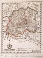 1811 Árva Vármegye. Comitatus Arvensis. Színezett Rézmetszet, Papír, 24x32 Cm A Vármegye Közigazgatási Térképe és Címere - Cartes