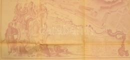 1952 Horler Ferenc által Rajzolt és Másolt Budavár Térkép és Helyszínrajz. Plan De La Cille Et Chateau De Bude 1749 160x - Cartes