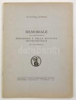 Memoriale Sulla Questione Della Bessarabia E Della Bucovina Settentrionale. Bukarest, 1940, Accademia Romena. Vitairat B - Cartes