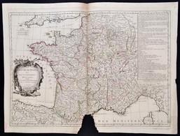 Polo Santini: A Francia Királyság Katonai és Politikai  Térképe. Paolo Santini: Le Royaume De France Divise Par Gouverne - Cartes