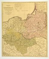 1798 Franz Ludwig Güssefeld (1744-1807): Charte Von Dem Königreich Preussen. Nach Seiner Hauptabtheilung/ In Ost-West-Sü - Cartes