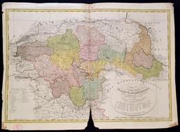 1801 A Délporosz Poseni Kerület Posta és Politikai Térképe. Das Zu Südpreussen Gehörige Posener Kammerdepartement  ...au - Cartes