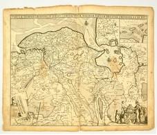 Gröningen és Környékének Nagyméretű, Díszes Térképe. Frederick De Wit:  Tabulae Dominii Groeningae Quae Et Complectitur  - Cartes