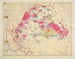 1935 Ungarische, Deutsche Und Rumänische Genossenschaften In Transylvanien / Societa Cooperative Magiare, Tedesche E Rum - Cartes