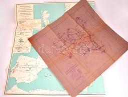 3 Db Közlekedési Térkép. Benne Tolna Vármegye Közúthálózata Térkép Másolat. Mind Nagyméretű - Cartes