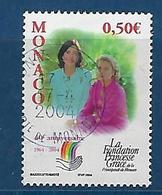 """Monaco YT 2425 """" Fondation Princesse Grace """" 2004 Oblitéré - Monaco"""