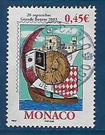 """Monaco YT 2395 """" Philatélie """" 2003 Oblitéré - Monaco"""