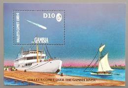 Gambie - YT BF N°21 - Passage De La Comète De Halley / Espace - 1986 - Neuf - Gambie (1965-...)
