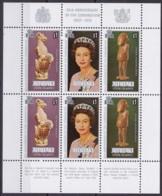Aitutaki, 1978, 295/05 Block 33,  25. Jahrestag Der Krönung Von Königin Elisabeth II., MNH ** - Aitutaki