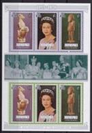 Aitutaki, 1978, 295/05 Kleinbogen,  25. Jahrestag Der Krönung Von Königin Elisabeth II., MNH ** - Aitutaki