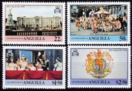 Anguilla, 1978, 313/16,  25. Jahrestag Der Krönung Von Königin Elisabeth II., MNH ** - Anguilla (1968-...)