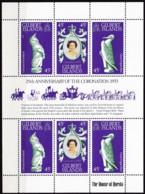 Gilbert-Inseln, 1978, 307/09, 25. Jahrestag Der Krönung Von Königin Elisabeth II.. MNH ** - Briefmarken