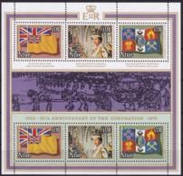 Niue,1978, 202/04 Kleinbogen, 25. Jahrestag Der Krönung Von Königin Elisabeth II.  MNH ** - Niue