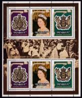 Penrhyn,1978, 115/17 Kleinbogen, 25. Jahrestag Der Krönung Von Königin Elisabeth II.  MNH ** - Penrhyn
