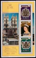 Penrhyn,1978, 115/17 Block 11, 25. Jahrestag Der Krönung Von Königin Elisabeth II.  MNH ** - Penrhyn