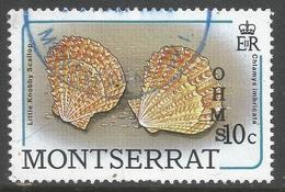 Montserrat. 1989 Official. 10c Used. SG O77 - Montserrat