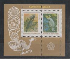 Indonésie 1981 Oiseaux BF 41 ** MNH - Indonesia