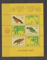 Indonésie 1980 Oiseaux BF 36 ** MNH - Indonesia
