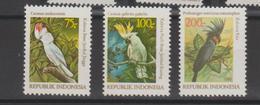 Indonésie 1981 Oiseaux Série 929-931 3 Val ** MNH - Indonesia