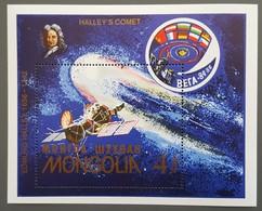 Mongolie - YT BF N°116 - Passage De La Comète De Halley / Espace - 1986 - Neuf - Mongolie