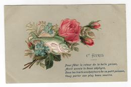 CPA -  Cartes Illustrateur -  1er Avril - Poisson - Ajoutis - 1er Avril - Poisson D'avril