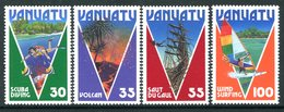 Vanuatu 1986 Tourism Set MNH (SG 425-428) - Vanuatu (1980-...)