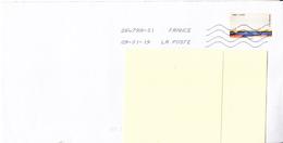 FRANCE - Détail De Marbre 2018 Sur Lettre - France
